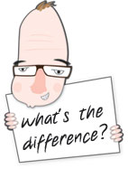 Nigel Knows What's the difference?