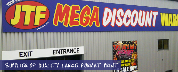 Supplier of quality large format print
