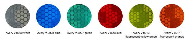 Avery V-8000 swatch