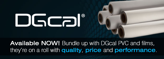 DGcal digital and films now available at Victory Design