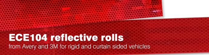 ECE104 reflective rolls