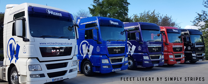Fleet livery by Simply Stripes