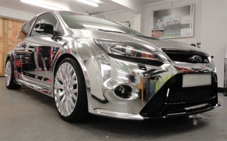 Chrome Ford Focus