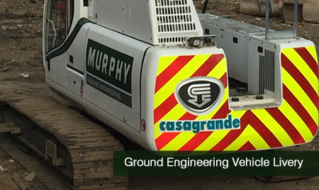 Ground Engineering Vehicle Livery