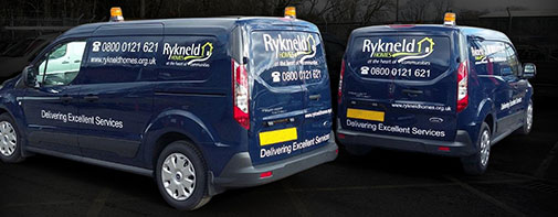 Vehicle branding for Rykneld