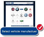 Select your car manufacturer