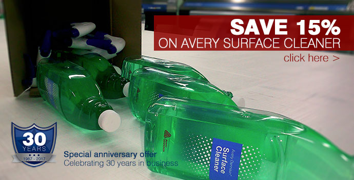 Avery surface cleaner